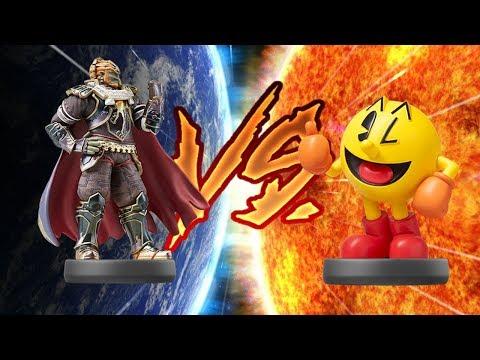 The Amiibo Games - Semifinals Set 1   Grandpa (Pac-Man) vs. Evil King (Ganondorf)