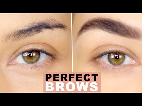 How To: Perfect Natural Brows | Eyebrow Tutorial | How to Groom Eyebrows | Eman