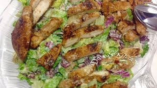 How to make Caesar Salad with Chicken