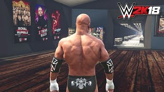 WWE 2K18 My Career, GM Mode & Road To Wrestlemania Gameplay Trailer PS4/XB1 Notion