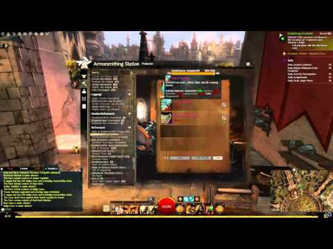 Guild Wars 2 Crafting Daily Items