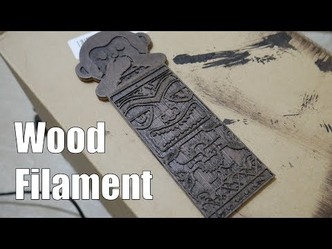 Making A Wooden Bookmark | 3d Printed Wood & Stained!