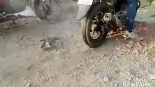 amazing smoky hot wheel must watch.