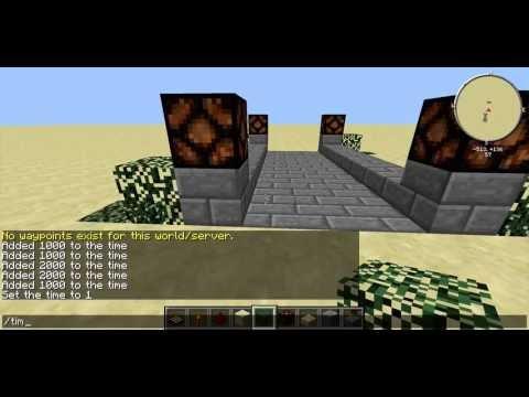 Minecraft Redstone Tutorial- Night Lamps/Lights