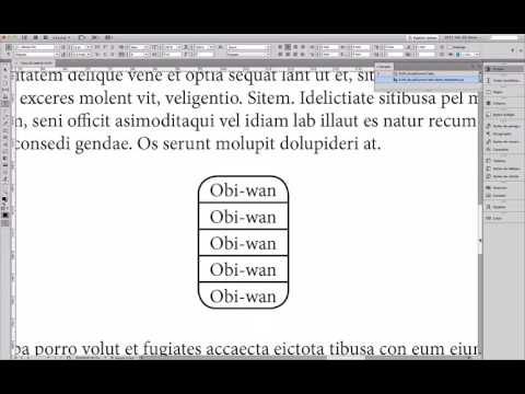 InDesign: Round Corners Table [In Batch]! … (^/)  ;-)
