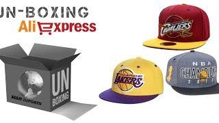 Unboxing #14 Bonés Nba Aba Reta Aliexpress