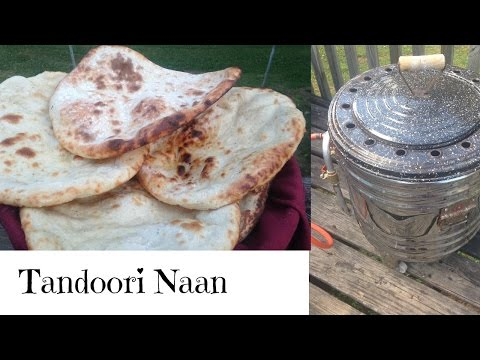 Homemade Tandoori Naan Recipe In a Tandoor *Nazkitchenfun* Pakistani Indian Cooking