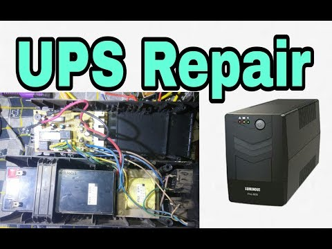 How To Repair UPS simple||backup problem solution||tricks and Tips|(100% working 'korba')