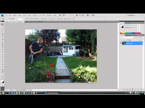 simple layer mask tutorial photoshop CS4