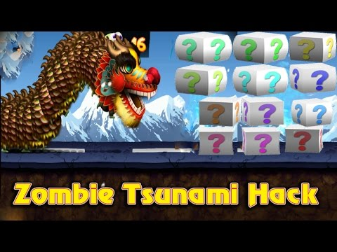 Zombie tsunami cheat all bonus block max 999 zombies