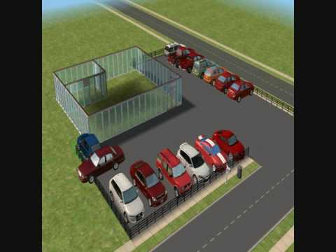 How To Build A Car Dealership On The Sims 2