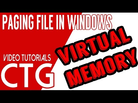 Virtual Memory - What You Need to Know About Windows Paging File - Clearing Data from Virtual Memory