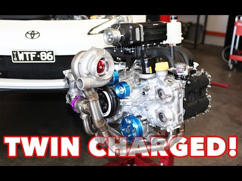 WTF86 - TWINCHARGED (Supercharged & Turbo) Toyota 86, Build, Antilag & Dyno archives