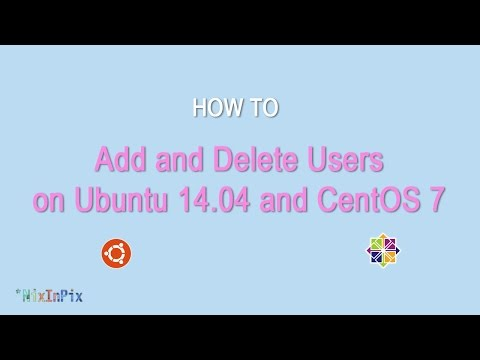 How To Add and Delete Users on Ubuntu 14.04 and CentOS 7