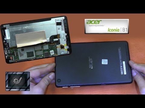Disassembly Acer Iconia one 7 Repair B1-730 HD open zerlegen Guide