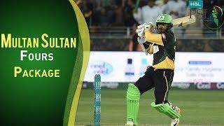 Multan Sultan Vs Peshawar Zalmi   All Fours By Multan Sultans   PSL 2018