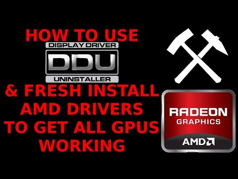 DDU Device Driver Uninstaller Fix Unrecognised GPU Clean Install AMD Radeon Drivers How To Use 6