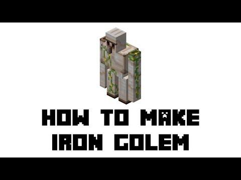 Minecraft Survival: How to Make Iron Golem