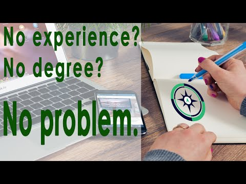 HOW TO GET A JOB WITH MINIMAL EXPERIENCE AND NO DEGREE (Professional Development 101)