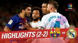 Elclásico - Resumen De Fc Barcelona Vs Real Madrid (2-2)