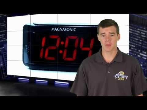 PI300 SVAT Alarm Clock Hidden Camera DVR