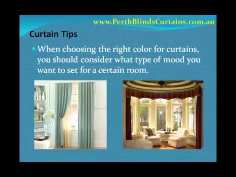 Curtains - Choosing the Right Colour Scheme.wmv