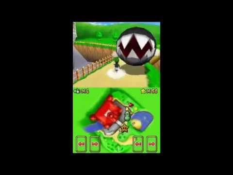Super Mario 64 DS: Messing around with the map select
