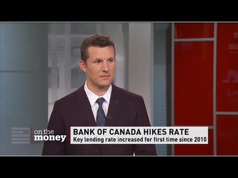 Bank of Canada Hikes Rate - Keith Emery - CBC News