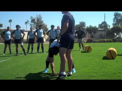Rugby IQ - Saddle Roll Clean Out Technique