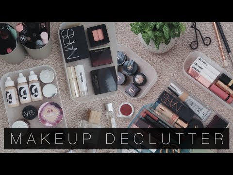 A Makeup Declutter & My Current Storage & Collection | The Anna Edit