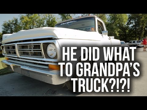 What Happened To Grandpa's 1972 Ford F100?