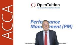 Financial Performance Measurement - ACCA Performance