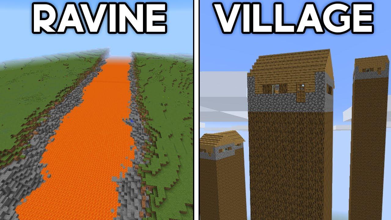 Minecraft's Most Unbelievable Seeds...