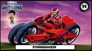 Vir presents Hot Wheels Battle Force 5 | Ep 14 - Stormshocker! | Action shows for kids