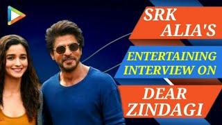 Shah Rukh Khan | Alia Bhatt | Dear Zindagi | Full Interview | Rapid Fire | Quiz