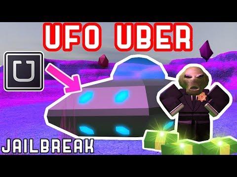 ALIEN UBER / TAXI DRIVER in JAILBREAK! *EASY MONEY*
