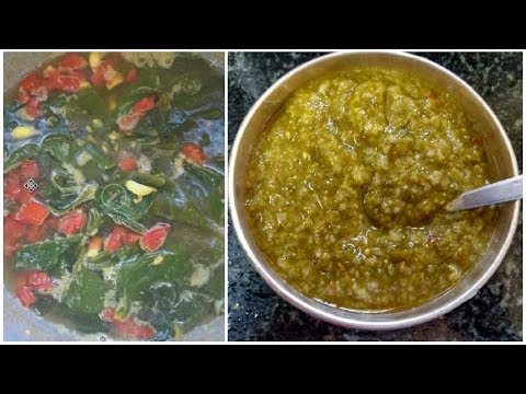 Palak puree for babies | Spinach for baby