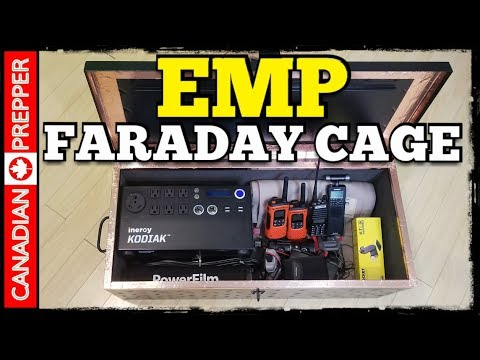 EMP Prepping: Building a Good Faraday Cage | Inergy Kodiak Generator