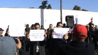 """#x202b;شعارات """"زروال"""": حيوا صمود الجماهير#x202c;lrm;"""