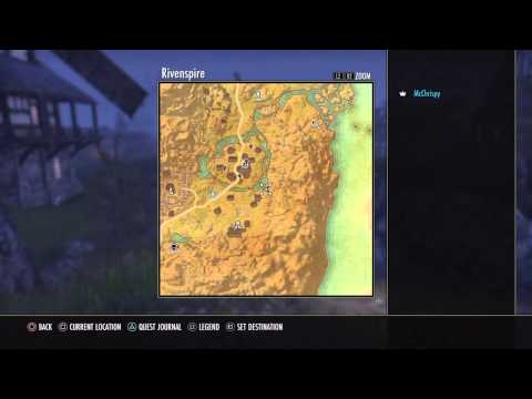 Elder Scrolls Online: Tamriel Unlimited - Rivenspire Treasure Map 3