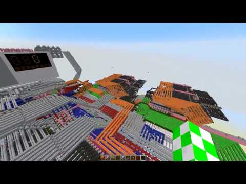 [Computer Engineering with AGuy] Minecraft Quad-Core Redstone Computer v4.0 [200 sub special!]