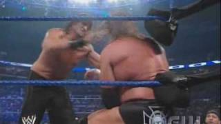 Triple H vs. The Great Khali (Lumberjack Match) (2/2)
