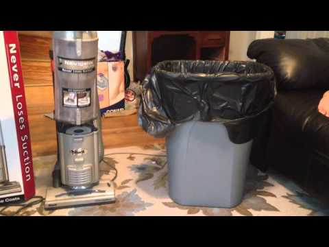 How To Empty Dirt and Dust Container Shark Navigator Vacuum