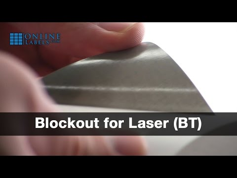 Blockout Labels for Laser Printers - See Features and Uses