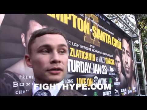 CARL FRAMPTON EXPLAINS CONOR MCGREGOR GETTING A BOXING LICENSE; OPEN TO SPAR AND HELP HIM TRAIN