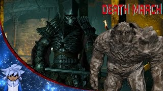 The Witcher 3: Wild Hunt - Golem & Nithral boss fight [Death March]