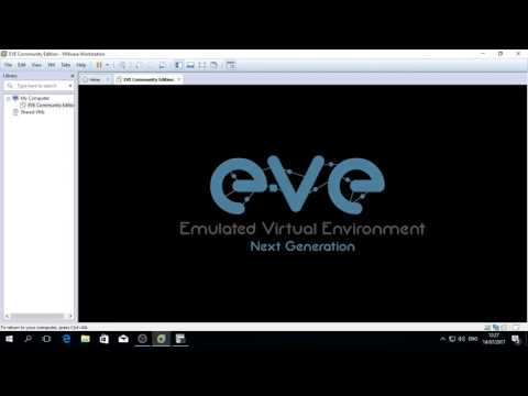 Installing and Configure Eve-NG in Windows 10