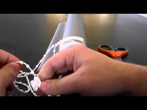 How to Shorten Chain Drop on Forest Roller Shade System