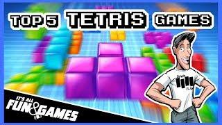 Top 5 Favorite Tetris Games