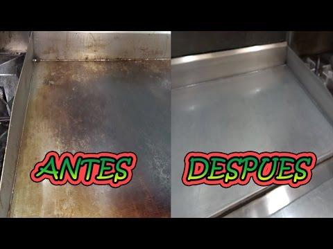 Cómo limpiar la plancha  [HD video]